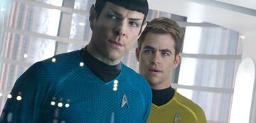 Zachary Quinto und Chris Pine in Star Trek: Into Darkness