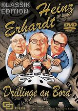Drillinge an Bord - Poster