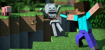 Bild zu:  Minecraft erzählt bald Geschichten