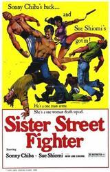 Sister Street Fighter - Poster