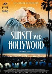 Sunset over Hollywood Poster