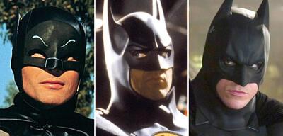 Wie viele Batman-Darsteller gibt es?