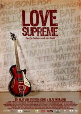 Love Supreme - Sechs Saiten und ein Brett - Poster