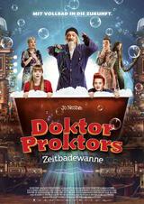 Doktor Proktors Zeitbadewanne - Poster