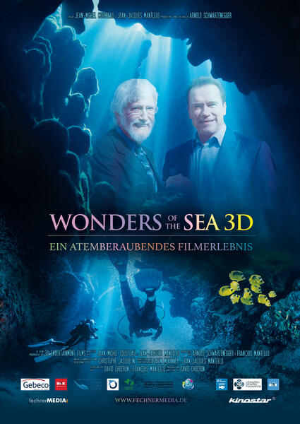 Wonders of the Sea mit Arnold Schwarzenegger und Jean-Michel Cousteau