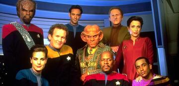 Die Crew von Deep Space Nine von Staffel 4 bis 6