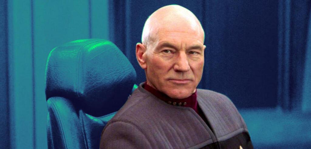 Picard in Star Trek: Nemesis