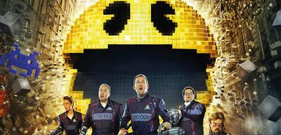 Die Pixels-Helden und Pac-Man