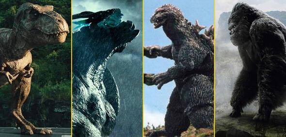 T-Rex, Kaiju, Godzilla und Kong in unseren besten Monster-Kämpfen