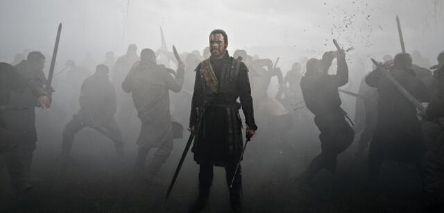 Michael Fassbender in Kurzels Macbeth