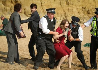 Jodie Whittaker in Broadchurch als trauernde Mutter