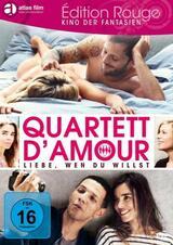 Quartett D'Amour - Liebe, wen Du willst - Poster