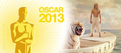 Vier Oscars gingen an Schiffbruch mit Tiger