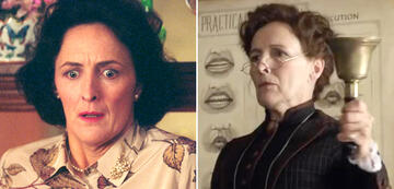 Fiona Shaw in Harry Potter und Enola Holmes