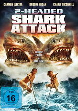 2-Headed Shark Attack - Poster