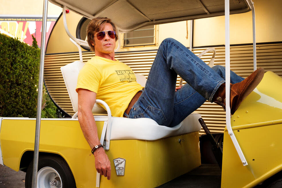 Once Upon a Time... in Hollywood mit Brad Pitt
