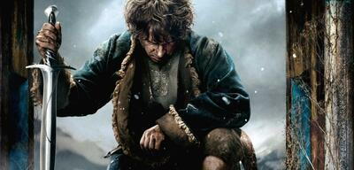 Bilbo in Der Hobbit: Die Schlacht der fünf Heere