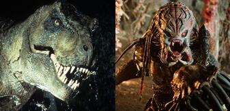 T-Rex trifft Predator