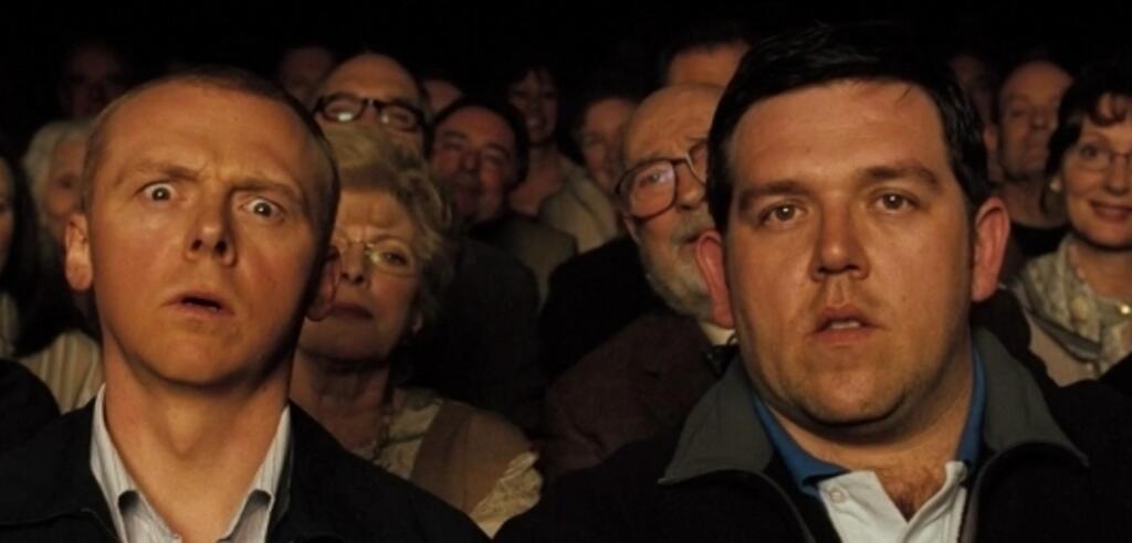 Simon Pegg und Nick Frost in Hot Fuzz