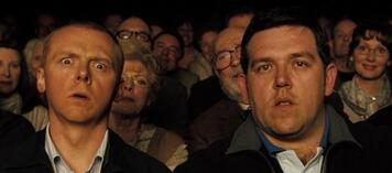 Simon Pegg und Nick Frost in Hot Fuzz
