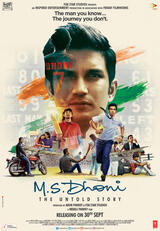 M.S. Dhoni: The Untold Story - Poster