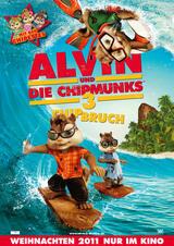 Alvin und die Chipmunks 3: Chipbruch - Poster