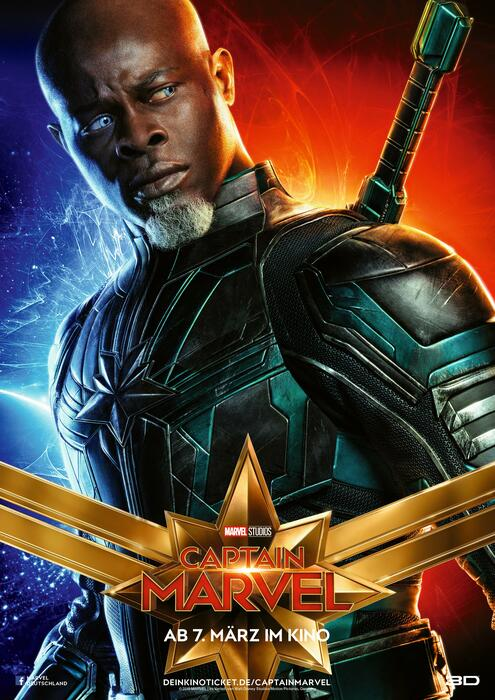 Captain Marvel mit Djimon Hounsou