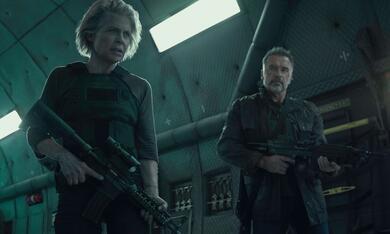 Terminator 6: Dark Fate mit Arnold Schwarzenegger und Linda Hamilton - Bild 7