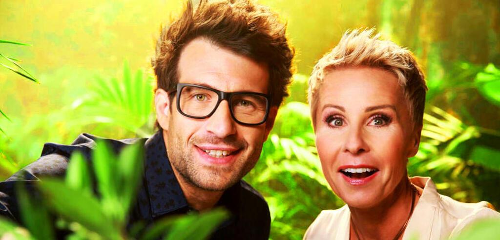 Daniel Hartwich und Sonja Zietlow in Ich bin ein Star - Holt mich hier raus!