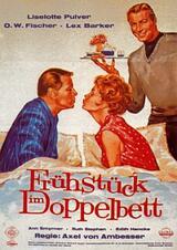Frühstück im Doppelbett - Poster