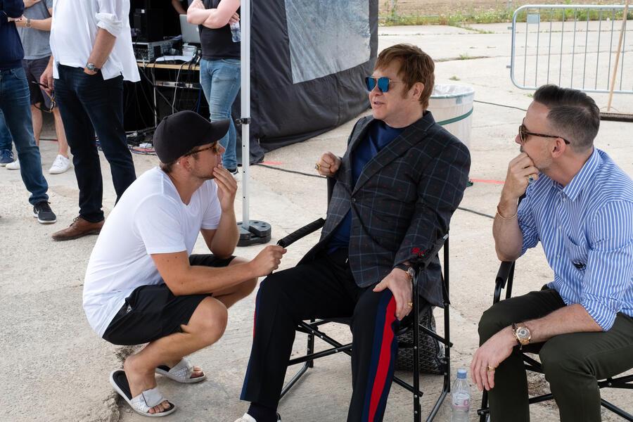 Rocketman mit Taron Egerton und Elton John