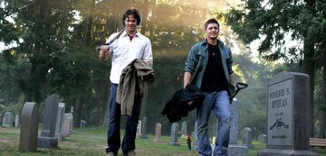 Bleiben selten lange im Grab: Sam und Dean Winchester.