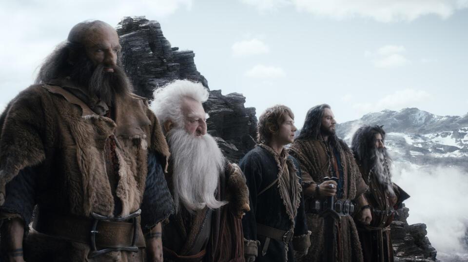 Der Hobbit: Smaugs Einöde mit Martin Freeman und Richard Armitage