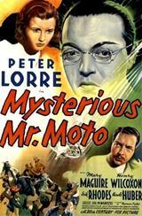 Mr. Moto und der Kronleuchter - Poster