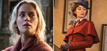 Emily Blunt in A Quiet Place und Mary Poppins' Rückkehr