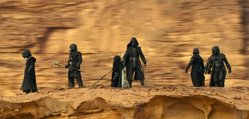 Die Knights of Ren in Star Wars 9: Der Aufstieg Skywalkers