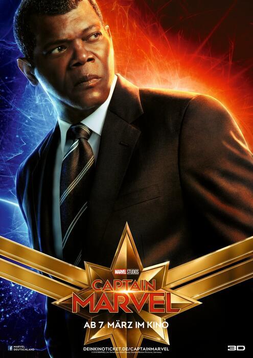 Captain Marvel mit Samuel L. Jackson