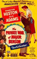 Der Privatkrieg des Major Benson - Poster