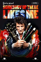 Ronnie Wood: Somebody up there likes me - Poster