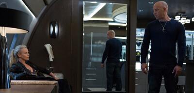 Charlize Theron und Vin Diesel
