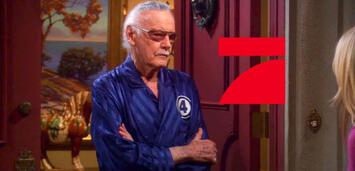 Bild zu:  Stan Lee bei Big Bang Theory