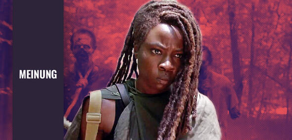 The Walking Dead mitDanai Gurira