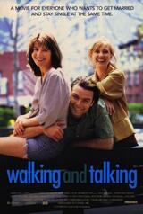 Walking and Talking - Poster