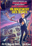 James bond im angesicht des todes poster