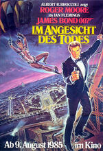 James Bond 007 - Im Angesicht des Todes Poster