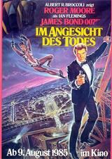 James Bond 007 - Im Angesicht des Todes - Poster
