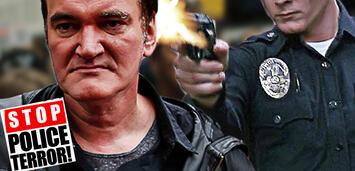 Bild zu:  Tarrantino hasst Polizisten!