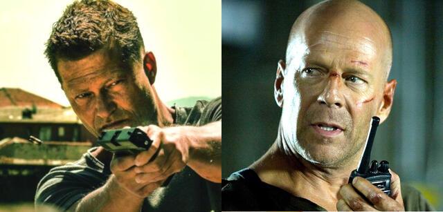 Til Schweiger in Tschiller: Off Duty, Bruce Willis in Stirb langsam 4.0