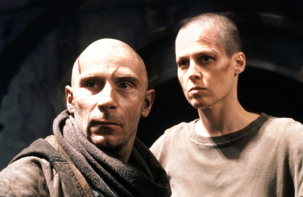 Alien³ mit Sigourney Weaver und Daniel Webb