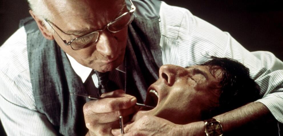 Laurence Olivier und Dustin Hoffman in Der Marathon-Mann